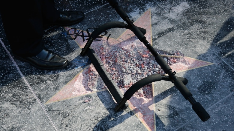 Kết quả hình ảnh cho West Hollywood may urge removal of trump's star from Walk of Fame