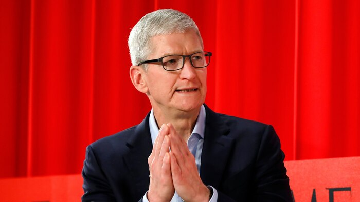 CEO Apple Tim Cook. (Ảnh: Variety)